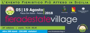 Ritorna a Pedara Fiera d`Estate Village