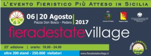 A Pedara Fiera d`Estate Village 2017